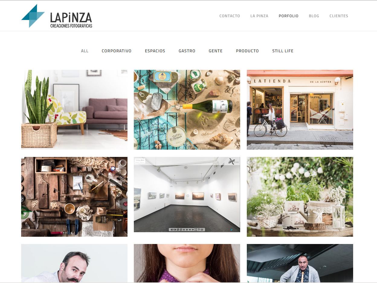 Renovamos web La Pinza