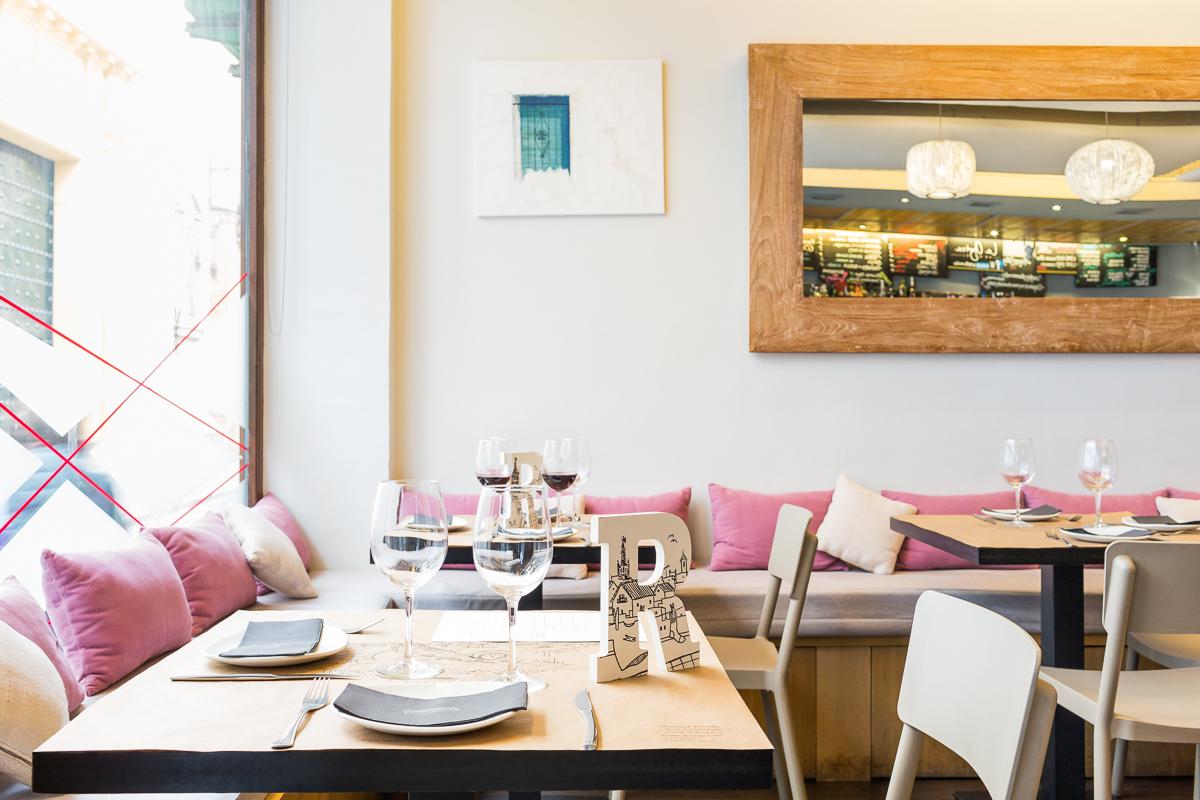 Fotografía interiorismo restaurantes Sevilla